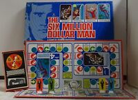 The Six Million Dollar Man Board Game Parker Brothers Vintage 1975