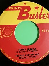 Prince buster Funky Jamaica / Closer Together . Buster allstars 45
