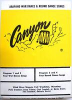 8-track Tape- Arapaho War Dance & Round Dance Songs- 1972 Canyon 8-6092- RARE