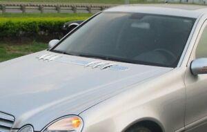 Mercedes Benz W211 2002-2009 Chrome Hood Vent Bonnet Air Vent Moulding