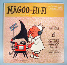 1956 Mr. Magoo in Hi-Fi LP Record Album Jim Backus Daws Butler UPA Pictures