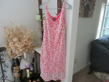 Byer Dress Lovely Ladies2 pc. Pink Floral Summer Dress! Size 10- FREE SHIPPING!!