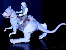 STAR WARS POTF DELUXE LOOSE 1997 LUKE SKYWALKER & TAUNTAUN w/accessories