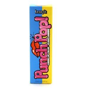 Benefit Orange Lipgloss Punch Pop Liquid Lip Colour Mango Brand New in Box