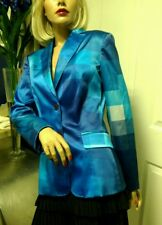 Vintage 90s Mochino Blazer Blue Rare Size 4 . As seen on Fran on The Nanny