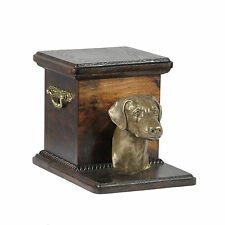 Mascota Urna crematoria Doberman - CONMEMORATIVO para de perro ashes ,con