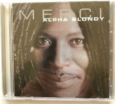 RARE ALPHA BLONDY ( MERCI ) CD ALBUM 12 Titres 2002 reggae