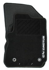 Genuine CITROEN C4 Cactus 2015 on Carpet Floor Mats Set 1611107680