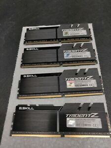 G.Skill F4-4133C19Q-32GTZKKF TridentZ Series Memory Modules 32GB (4 x 8GB) DDR4