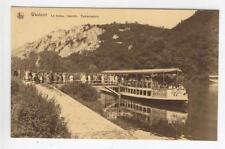 AK Waulsort, Le bateau Touriste, Embarcadere, 1925