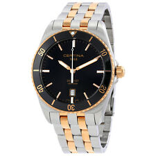 Certina DS First Ceramic Black Dial Mens Watch C0144102205100