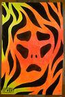 UV art, funky art, retro wall art, huge canvas wall art, cool painting,devil art