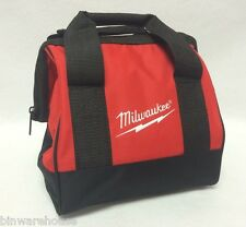 "New Milwaukee Heavy Duty Contractors Bag for M18 M12 Combo Kit 11"" x 10"" x 10"""