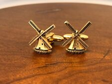 Hickok Cufflinks Dutch Windmill Cufflinks.