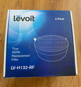 LEVOIT Air Purifier LV-H132-RF Replacement True HEPA Carbon Filter 1 Pack