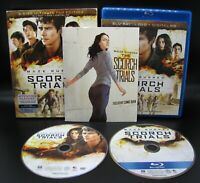 Maze Runner: The Scorch Trials (Blu-Ray + DVD, 2015) Discs Only - Fast Ship!