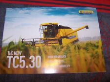 2M - Prospectus/Brochure/Prospekt Moissonneuse batteuse New Holland TC5.30