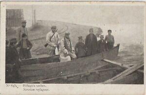 1916 GREECE THESSALONIKI SERBIAN REFUGEES