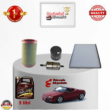 Kit de Mantenimiento Filtros + Aceite Alfa Romeo Spider 1.8 Ts 106KW 1999 -