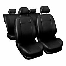 Premium Kunstleder Sitzbezüge Sitzbezug für Mitsubishi Outlander Grau Set