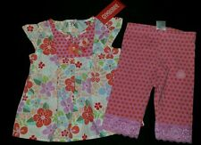 NWT GYMBOREE TOKYO TEA GARDEN 12-18 MO SWING TOP CAPRI LEGGINGS SET RARE