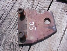 Farmall Ih Super C Sc Tractor Front Pedestal Hitch Plates With Bolts