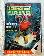 SCIENCE AND MECHANICS MAGAZINE August 1963