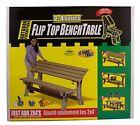Folding Picnic Table Bench Kit Patio Outdoor Convertible Flip Top Yard Furniture