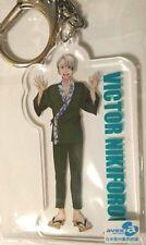 Yuri on Ice Acrylic Keychain Victor Nikiforov �賀 Saga Limited Anime Japan F/S