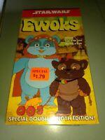 SEALED THE STAR WARS TRILOGY  EWOKS VOL 1  VHS  NTSC U.S.A DOUBLE LENGTH EDITION