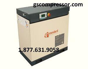 NEW GS 15 HP Rotary Screw Air Compressor A IR END