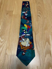 Looney Tunes Mania Golf Characters Polyester Neck Tie