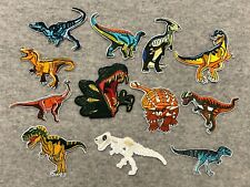 Dinosaur Jurassic Park Embroidery Clothing Iron/Sew On Patch Applique