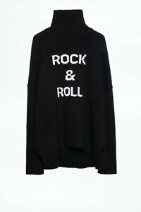 Zadig & Voltaire - wonderful jumper size L with wool and alpaca