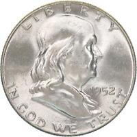 1952 Franklin Half Dollar 90% Silver BU US Coin