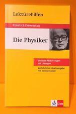 Lektürehilfen Friedrich Dürrenmatt