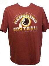 New Washington Redskins Men Sizes M-L-Xl-2Xl Red Soft Majestic Shirt