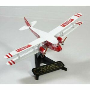 Oxford Diecast 1/72 72DG002CC de Havilland DH84 Dragon VH-AQU Coca Cola