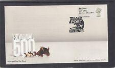 GB 2016  Post & Go Machin Head single 1st stamp RM 500 oprint m/c B1 FDC London