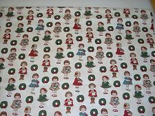 Christmas Dolly Fabric