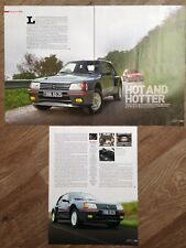 Peugeot 205 Turbo 16 vs 205 Gti - Classic Test Article