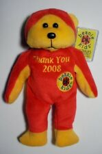 SKANSEN BEANIE KID 2008 THANK YOU MASTER BEAR NO RETAIL MINT WITH MINT TAG
