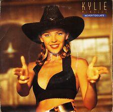 """Kylie Minogue nunca es demasiado tarde Kylie's Smiley Mix 7"""" PS Ex/Ex UK PWL PWL 45"""