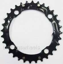 TRUVATIV Chainring MTB 32t 4 Bolt 104mm BCD Steel Matte Black