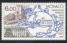 Monaco 1989 UPU/Palace/White House/Buildings/Architecture/Post/Mail 1v (n39300)