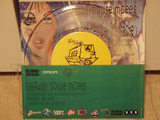"""HALFWAYHOUSE MCEES - TRILATERAL COMMISION (7"""") 2002!! RARE!!  DISCREET MERCHENTS"""