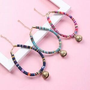 Pet Copper Bell Bell Cotton Rope Necklace Small Dog Cat Accessories Chain Collar