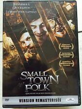 Warwick Davis, Dan Palmer SMALL TOWN FOLK ~ 2009 British Cult Horror Rare UK DVD