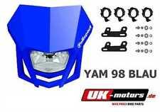 POLISPORT LMX Mascherina fari blu HM-Moto CRM 125 450 CRM 490 CRM 500