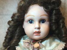 Reproduction Jumeau Doll, 27 1/2� Doll Blue Eyes & teeth